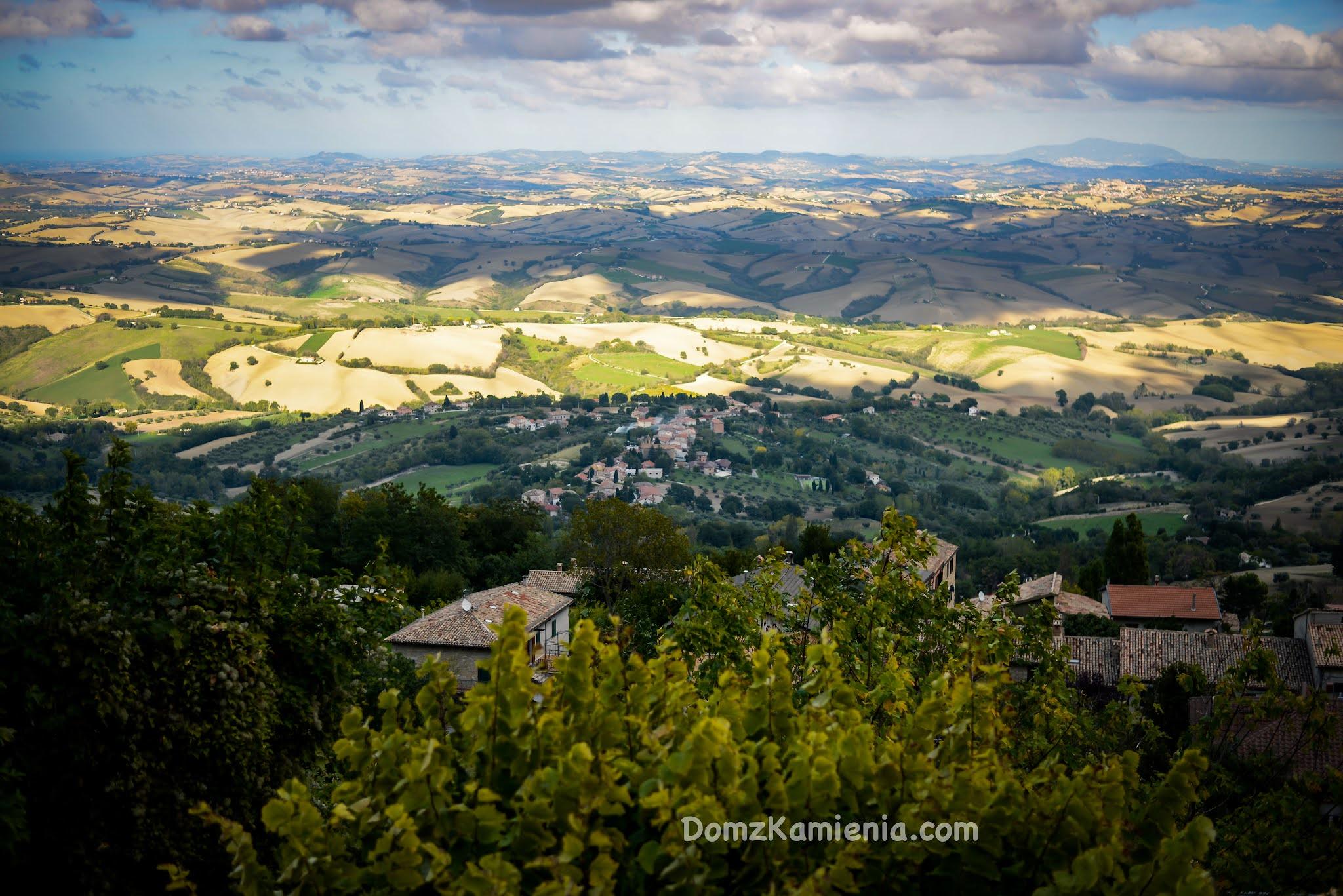 Cingoli Marche region Włoch nieznany. Dom z Kamienia blog