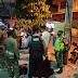 Operasi Yustisi Malam Kembali dilaksanakan Oleh Anggota Kodim Tegal Bersama Satgas Covid 19 Kabupaten Tegal