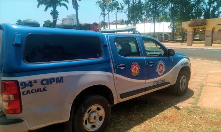 Polícia Militar prende autor de arrombamento na Secretaria de Saúde de Caculé