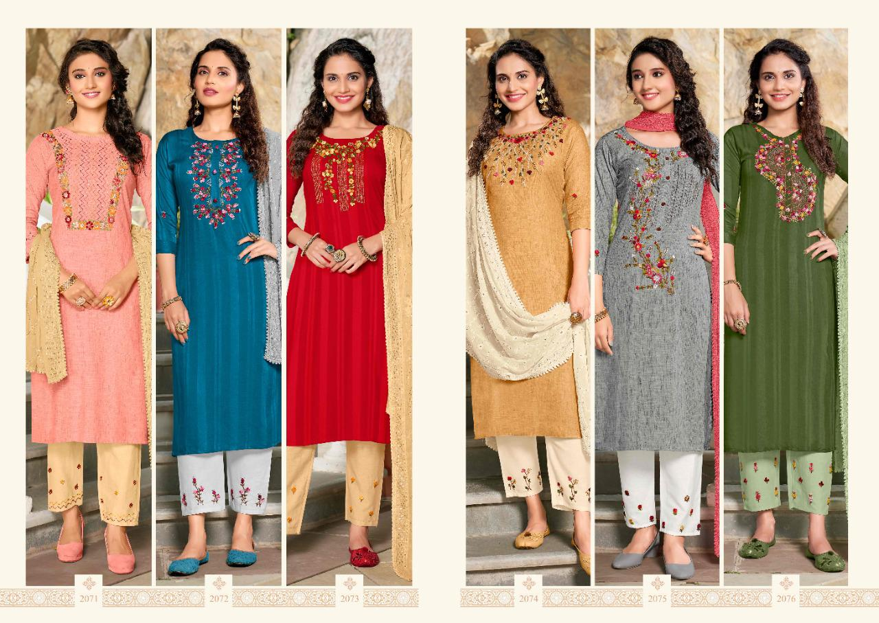 Af Insta Girls Readymade Pant Style Suits Catalog Lowest Price