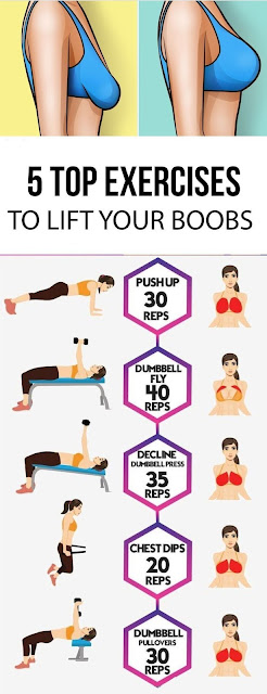 The Best Exercises For Breast Lift
