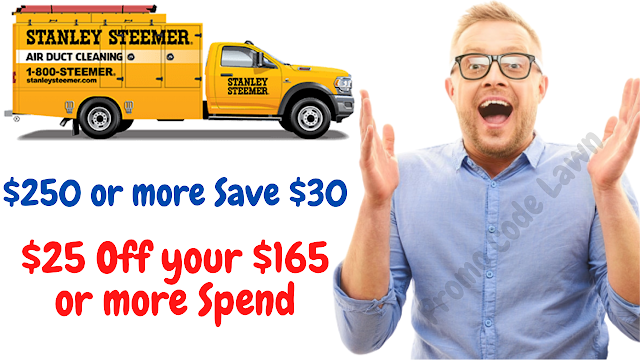 Stanley Steemer Coupon - $30 Off w/2022 Promo Code