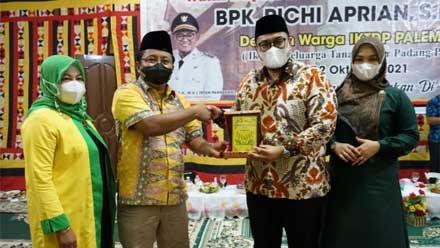 Richi Aprian silaturahmi dengan IKTDP Palembang