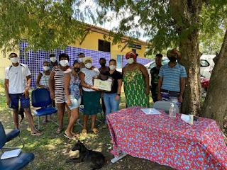 Imagem: Duas comunidades quilombolas em Cachoeira recebem mais de R$ 1 milhão