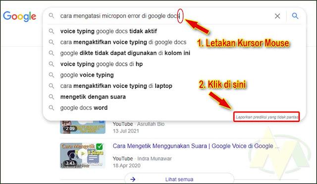 Cara Mengkopi Mendapatkan Kata Kunci di Mesin Pencarian Google dan YouTube.