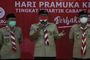 Lawan Pandemi Covid-19, Pramuka Kabupaten Serang Diminta Edukasi Masyarakat