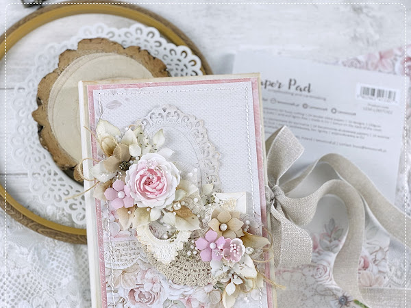 Magic Book Handmade Card, Mannequin & Dress