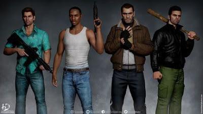 Rockstar Kabulkan Permintaan para GTA Fans bakal Remastered trilogi GTA Lawas