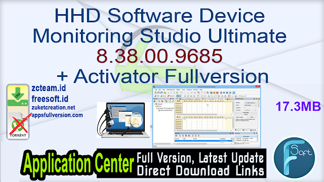 HHD Software Device Monitoring Studio Ultimate 8.38.00.9685 + Activator Fullversion