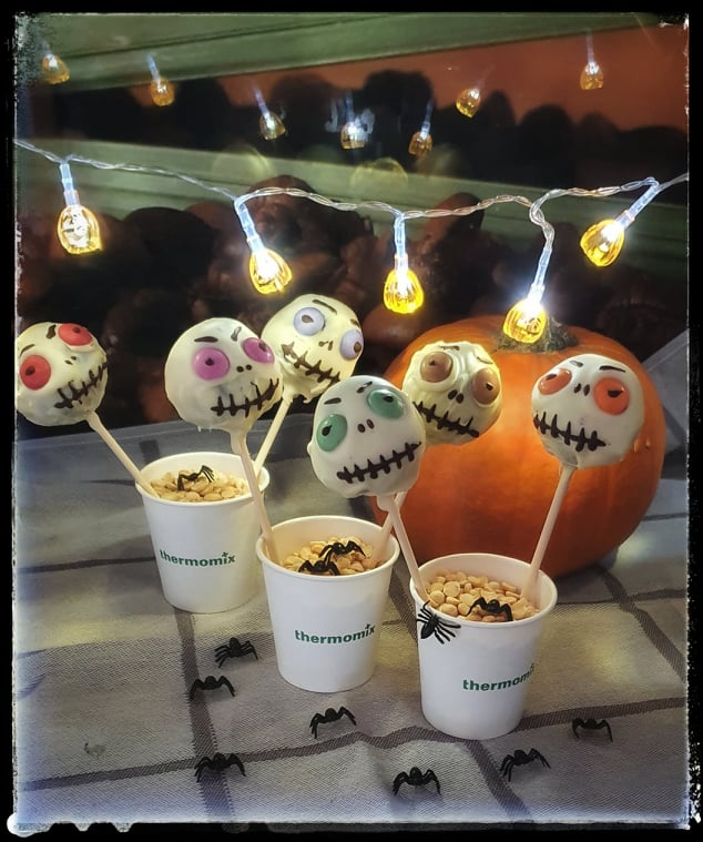 Cake pops na Halloween