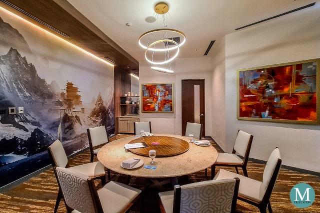 newly renvated Xin Tian Di Restaurant at Crowne Plaza Manila Galleria