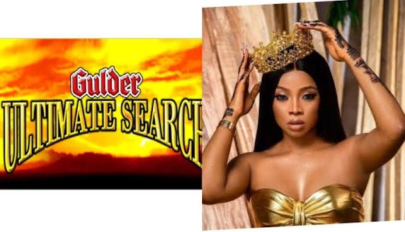 """Toke Makinwa,Gulder Ultimate Search Reality Show"""