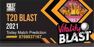YOR vs SUS Quarter Final 1 100% Sure Match Prediction Vitality T20 Blast