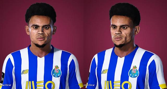Luis Díaz Face For eFootball PES 2021