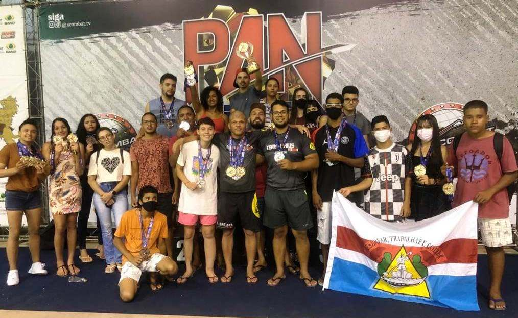 Atletas de Barreiras sagram-se campeões por equipe no Campeonato Pan-Americano de Jiu-Jitsu, em Salvador