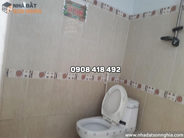 Thuê nhà có 3 toilet