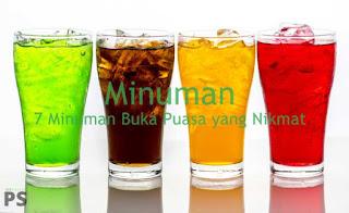 Minuman Buka Puasa Yang Nikmat