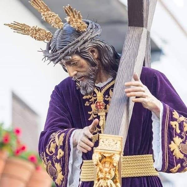 Horario e Itinerario Procesión Extraordinaria del Nazareno de Moguer por 350 Aniversario de las Primeras Reglas. Moguer (Huelva) 17 de Octubre del 2021
