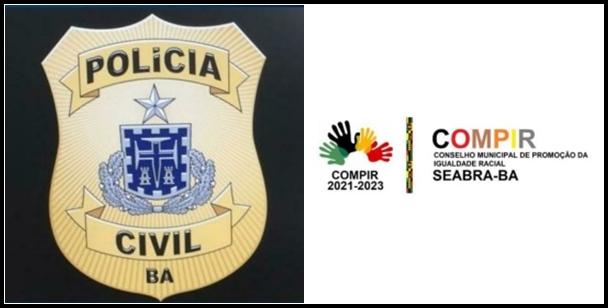 Polícia Civil e O COMPIR pedem doações para Comunidade Quilombola de Seabra
