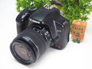 Kamera DSLR Bekas Canon Kiss X2