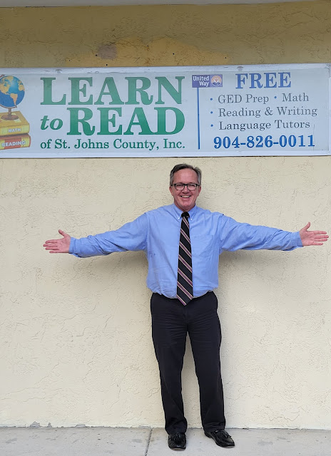 Learn To Read CEO and President Joseph Cinney