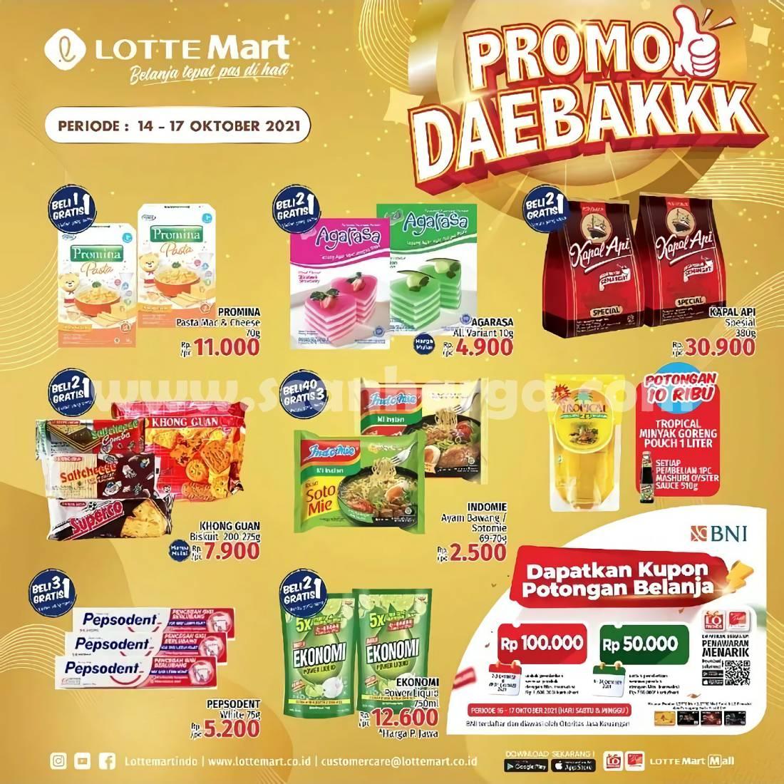 Katalog Promo JSM Lottemart Weekend Periode 14 - 17 Oktober 2021