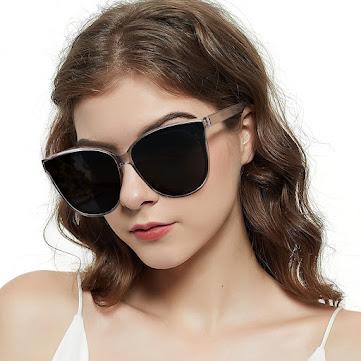 Large Oversized Cat Eye Sunglasses For Women