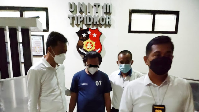 Pelaku Korupsi Dana Desa  Kades Gunung Besar Jadi Penghuni Penjara