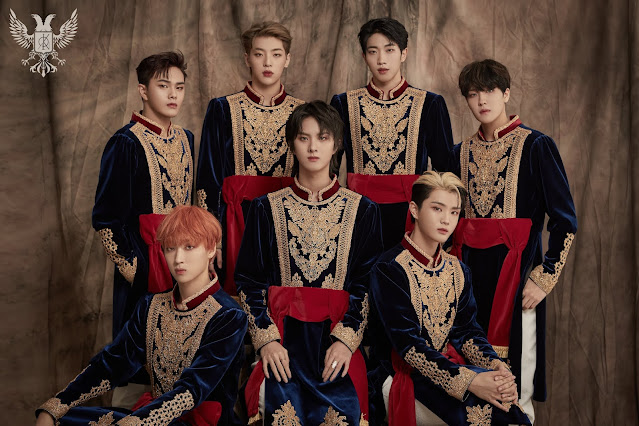 KINGDOM hace comeback con 'History Of Kingdom : PartⅢ. Ivan'.