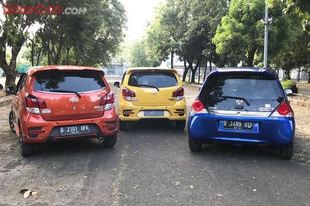 Segini Harga Honda Brio Satya, Agya, dan Ayla Cs dengan Skema Pajak 15 Persen