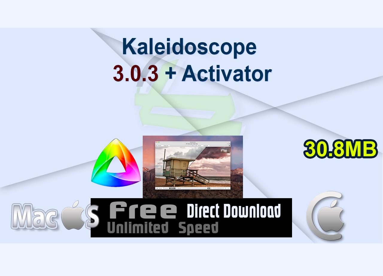 Kaleidoscope 3.0.3 + Activator