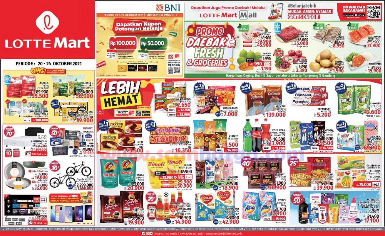 Katalog Promo Lottemart Weekend 20 - 24 Oktober 2021