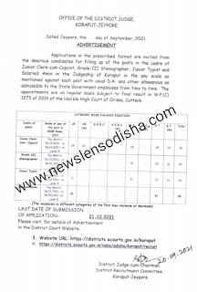 Koraput District Recruitment 2021