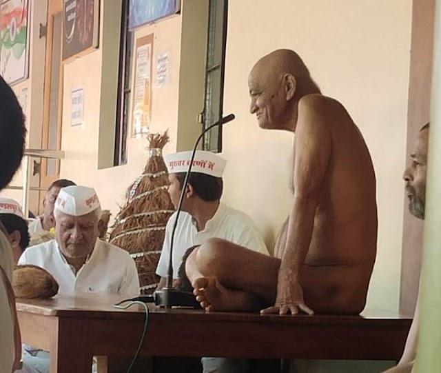 कुंडलपुर में बड़े बाबा मंदिर हेतु पंच कल्याणक गजरथ महा महोत्सव.. आचार्य श्री के सानिध्य में फरवरी 2022 में होना लगभग तय.. दमोह जिले की जैन समाज ने जबलपुर पहुंचकर.. आचार्य श्री ससंघ से कुण्डलपुर आगमन हेतु श्रीफल अर्पित किया..