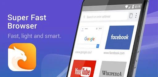 تحميل متصفح سريع Super Fast Browser Apk للاندرويد 2022