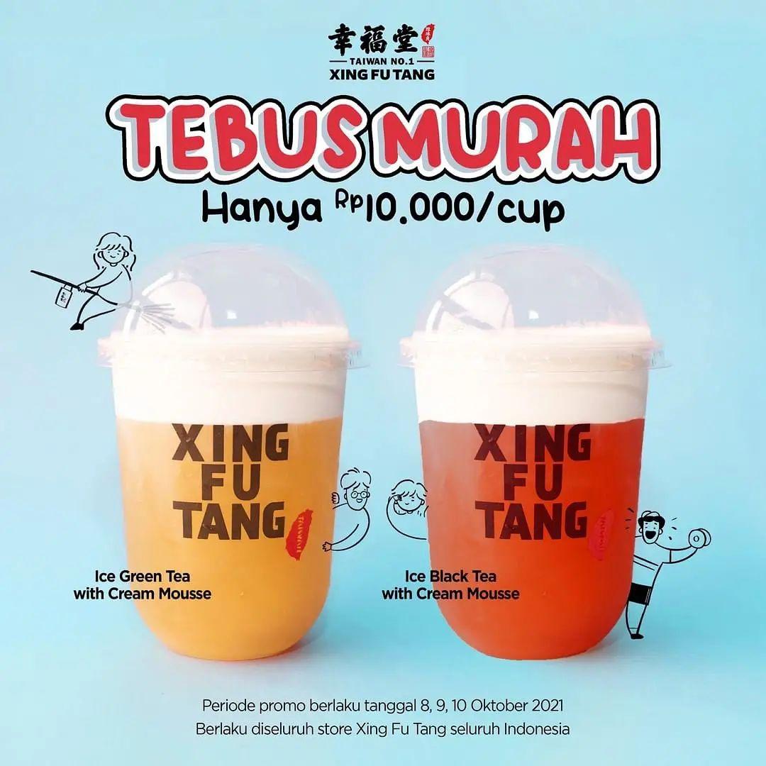 XING FU TANG Promo TEBUS MURAH hanya Rp. 10.000