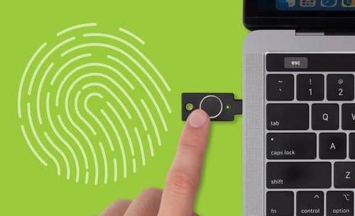 Yubico released security keys with fingerprint reader