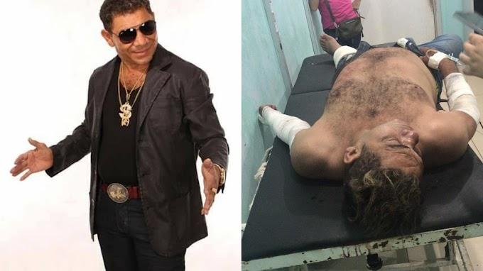 URGENTE! Milionário do Brega sofre acidente de moto em Pinheiro-MA