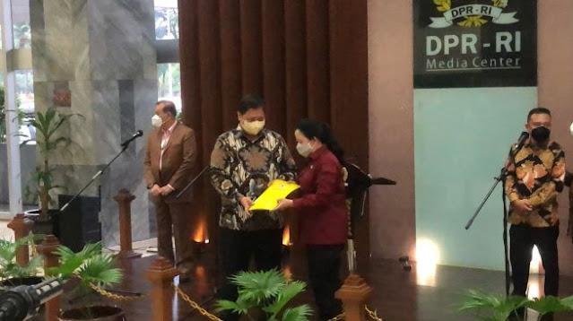 Bertemu Puan Maharani di DPR, Airlangga Hartarto Bicara Kedekatan Golkar dengan PDIP