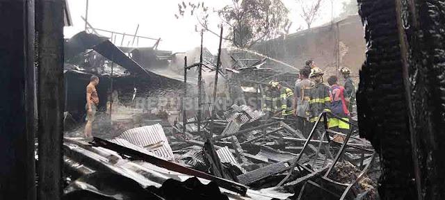 Kebakaran di Banjarmasin