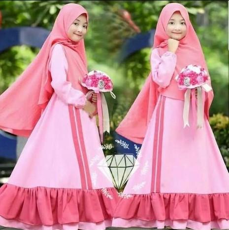 Pakaian Jilbab Anak Muda Trendy Masa kini Ada di Supplier Tangan Pertama Hijab Style Langsung dari Konveksi Solo