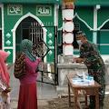 Prajurit TNI Diperbatasan Gelar Maulid Nabi, Tak Disangka Dibanjiri Warga