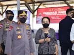 Tinjau Kegiatan Buruh di Banten, Kapolri Akan Perkuat Akselerasi Vaksinasi di Wilayah Aglomerasi