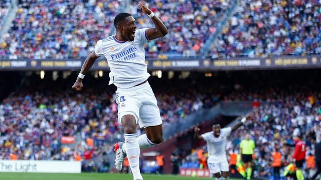 Real madrid defeats Bacelona 2-1 in a renew El Clasico clash