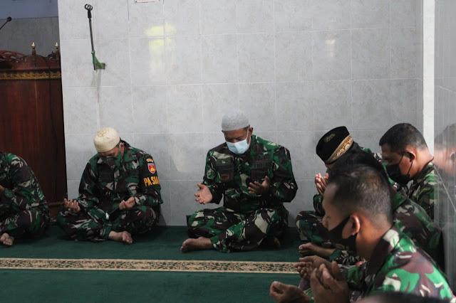 HUT TNI Ke-76, Kodim Purbalingga Gelar Doa Bersama