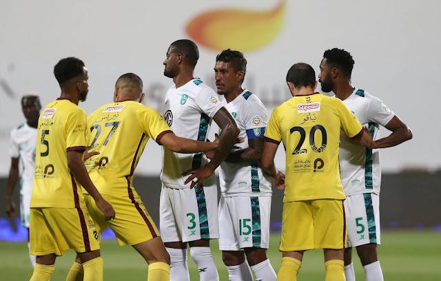 اهداف مباراة الاهلي والحزم (2-2) الدوري السعودي