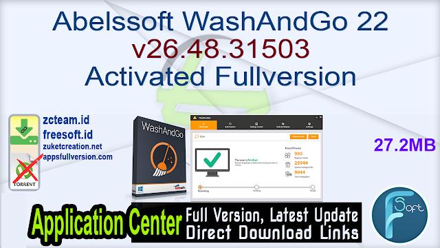 Abelssoft WashAndGo 22 v26.48.31503 Activated Fullversion