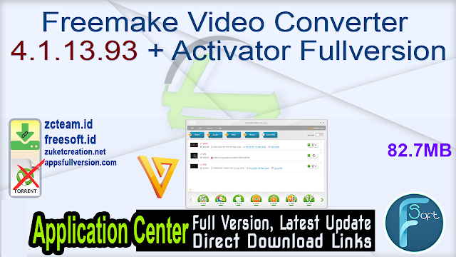 Freemake Video Converter 4.1.13.93 + Activator Fullversion