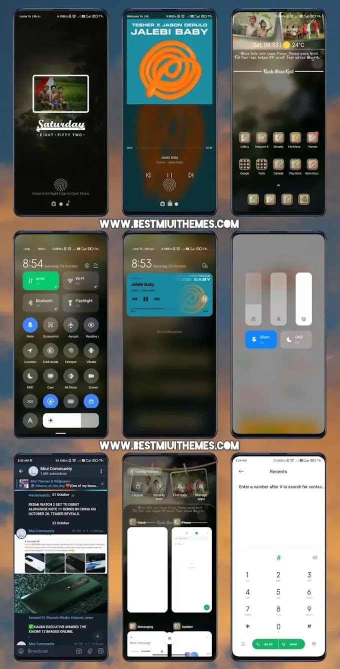 Memory 90 Miui 12 Theme download || Best Miui 12 Themes Download || Xiaomi Themes