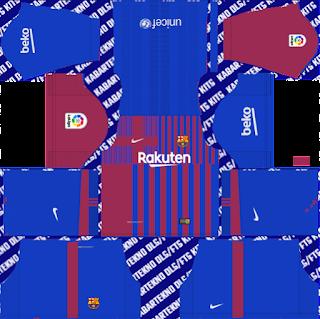 Barcelona 2021-2022 DLS Kits 2019